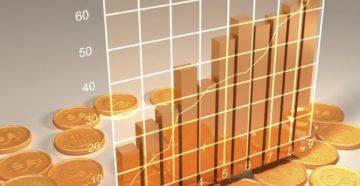 График с монетами